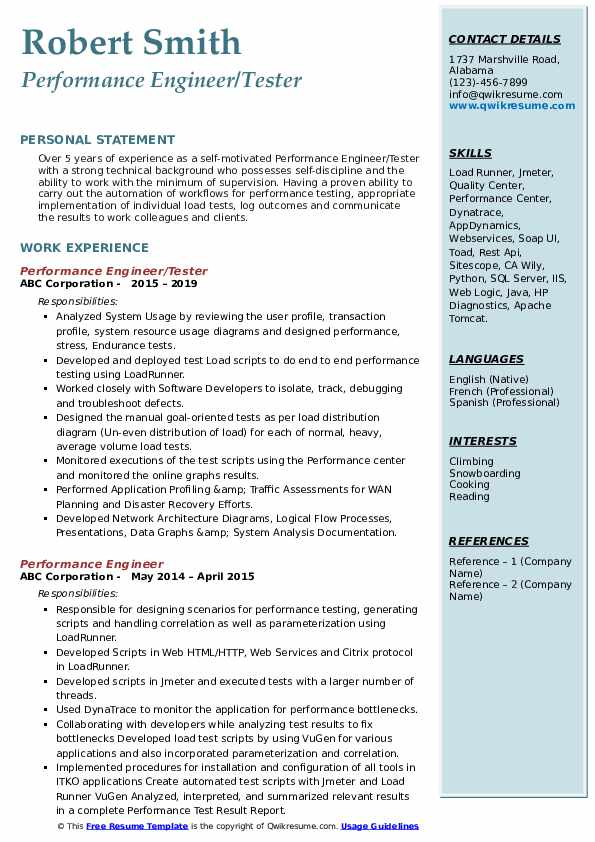performance engineer resume samples qwikresume appdynamics sample pdf format for cma Resume Appdynamics Sample Resume