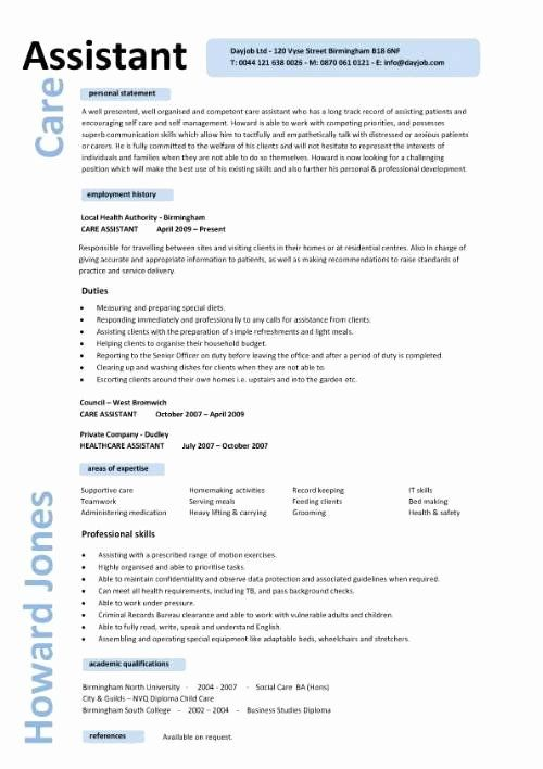 personal assistant resume examples inspirational care cv engineering civil engineer job Resume Personal Care Assistant Resume