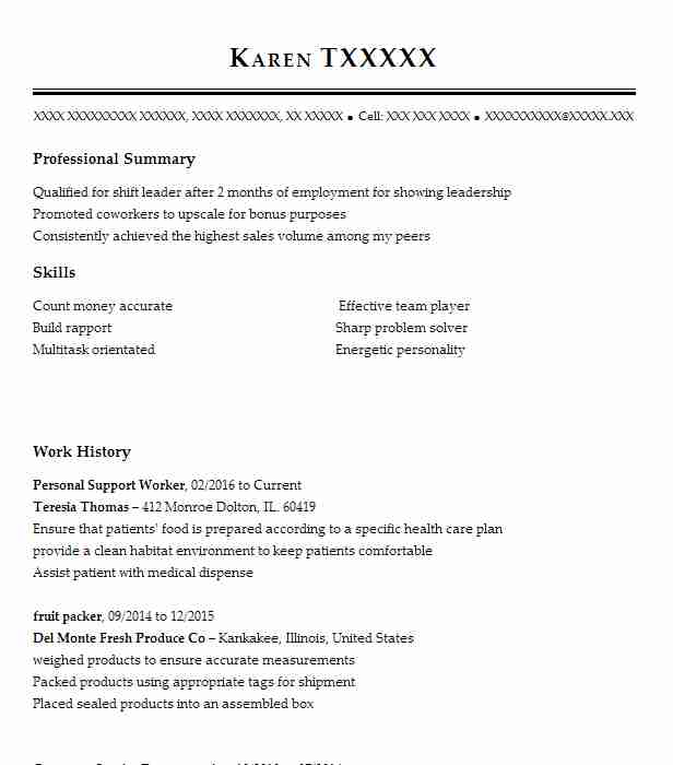 personal support worker resume example resumes misc livecareer cover letter for psw full Resume Cover Letter For Psw Resume
