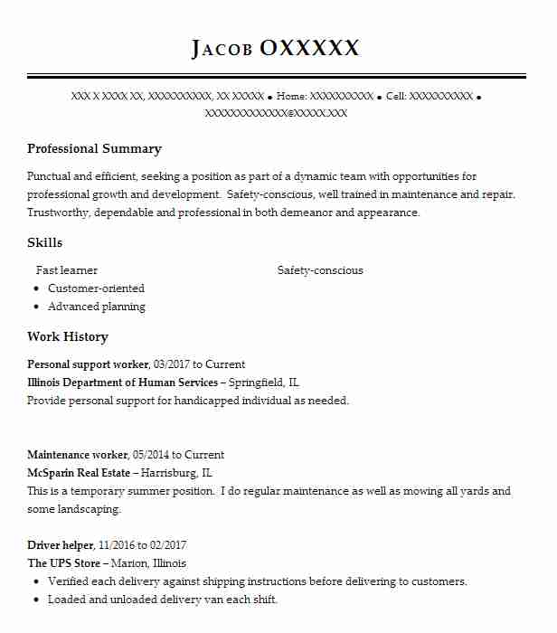 personal support worker resume example resumes misc livecareer cover letter for psw Resume Cover Letter For Psw Resume