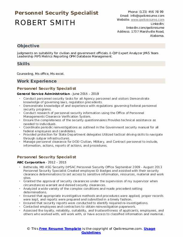 personnel security specialist resume samples qwikresume personal pdf high school lesson Resume Personal Security Resume