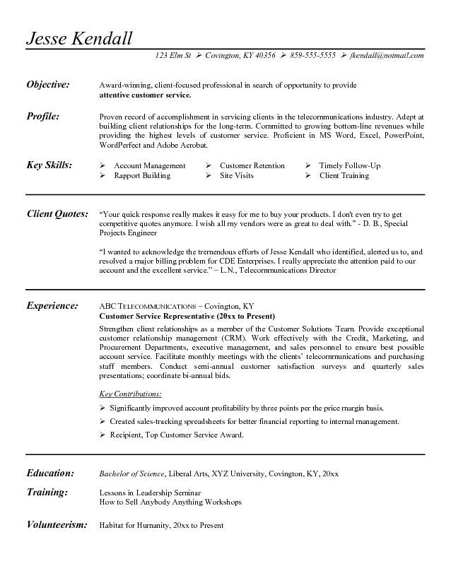 photo customer service skills in resume images objective examples statement career for Resume Career Objective For Resume Customer Service