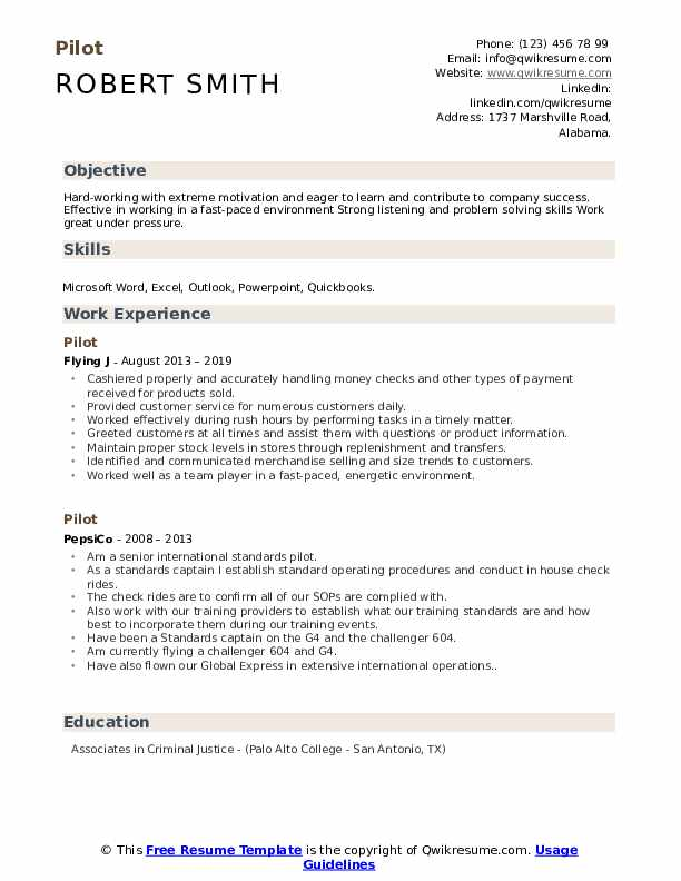 pilot resume samples qwikresume airline services pdf cls first time job business Resume Airline Pilot Resume Services