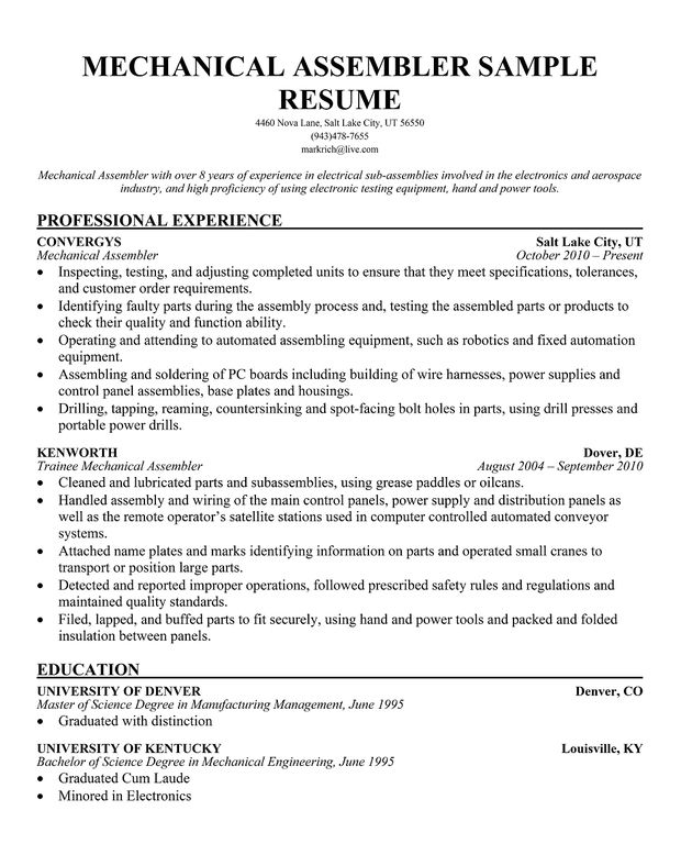 pin biodata sample for marriage background template assembly line worker resume with Resume Resume Examples For Assembly Worker