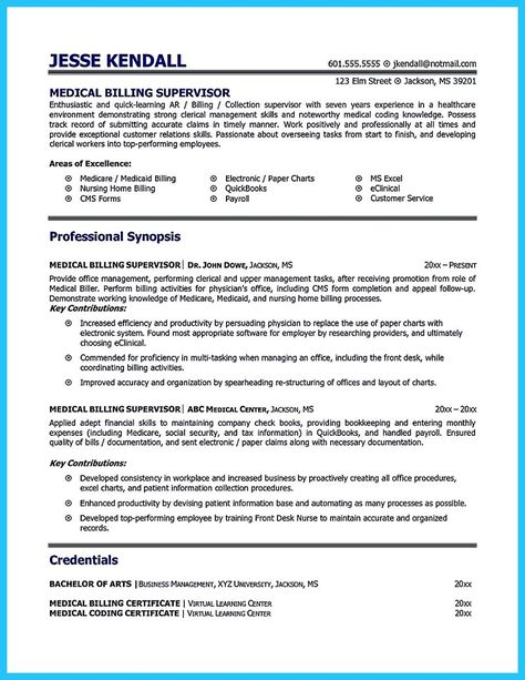 pin by becky eiland on medical coder resume billing and coding biller collections Resume Medical Billing And Collections Specialist Resume