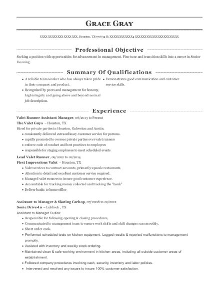 pin di resume templates valet attendant sample calling after submitting polished format Resume Valet Attendant Resume Sample