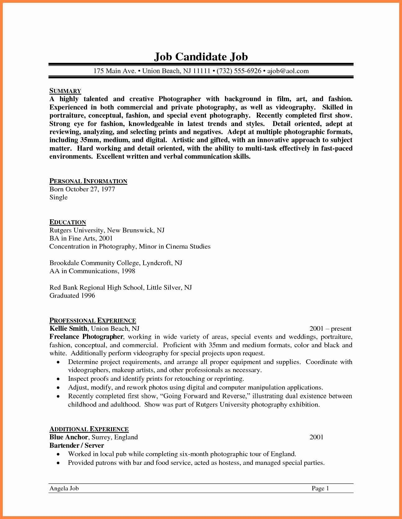 pin on create videographer resume template brief summary of your background for Resume Videographer Resume Template
