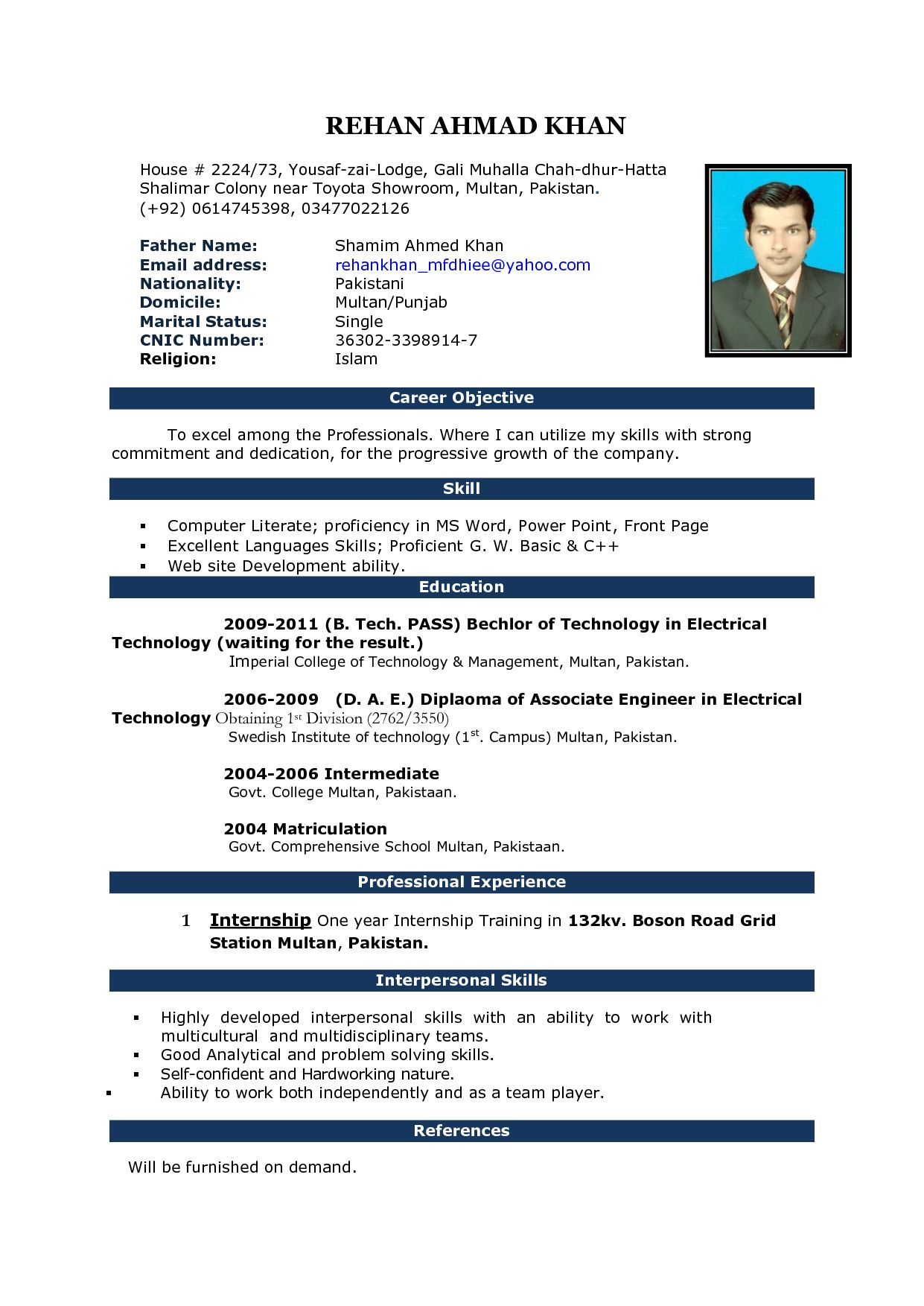 pin on cv student resume format word file python automation developer personal trainer Resume Student Resume Format Word File