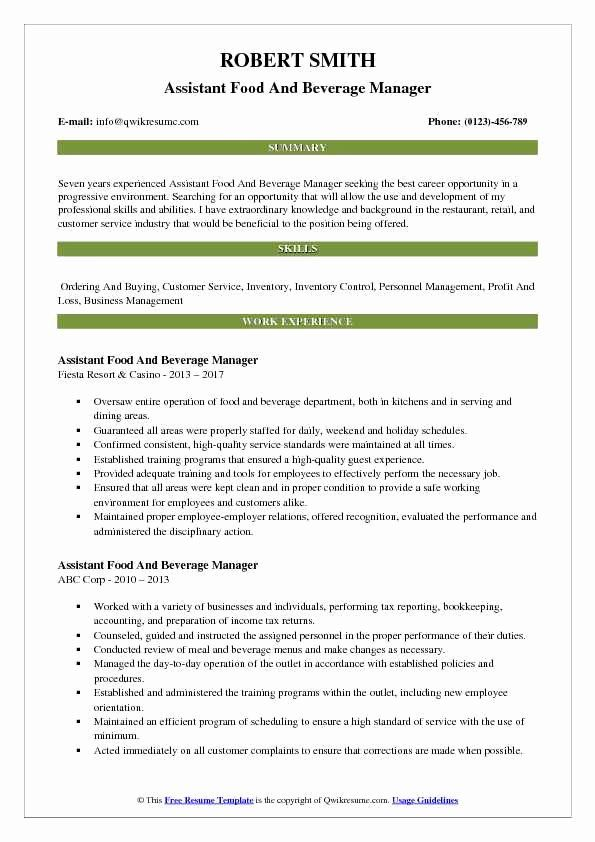 pin on job resume sample format for food and beverage service activities template lying Resume Resume Format For Food And Beverage Service