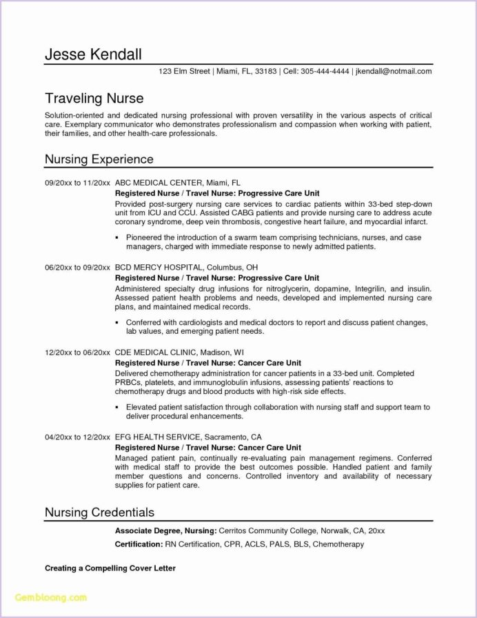 pin on patient care technician resume sample caring for family member career objective Resume Caring For Family Member On Resume