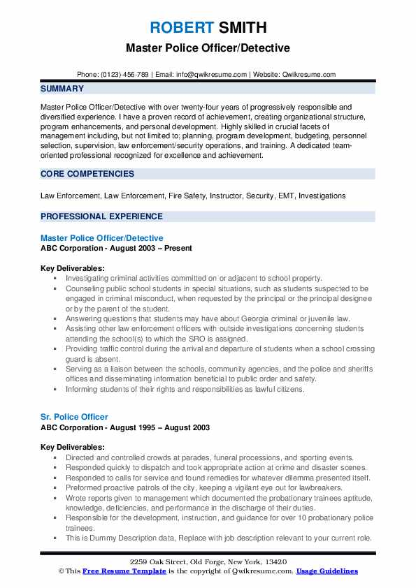 police officer resume samples qwikresume law enforcement template microsoft word pdf ruby Resume Law Enforcement Resume Template Microsoft Word