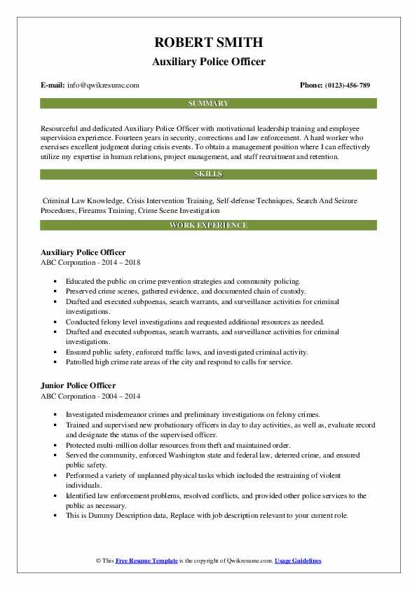 police officer resume samples qwikresume law enforcement template microsoft word pdf Resume Law Enforcement Resume Template Microsoft Word