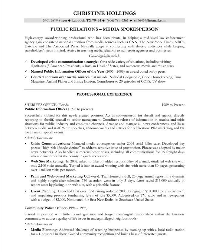 pr manager free resume samples blue sky resumes public relations examples officer for Resume Public Relations Officer Resume