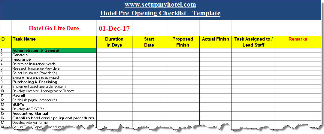 pre opening hotel checklist format experience resume skills for financial analyst Resume Pre Opening Hotel Experience Resume