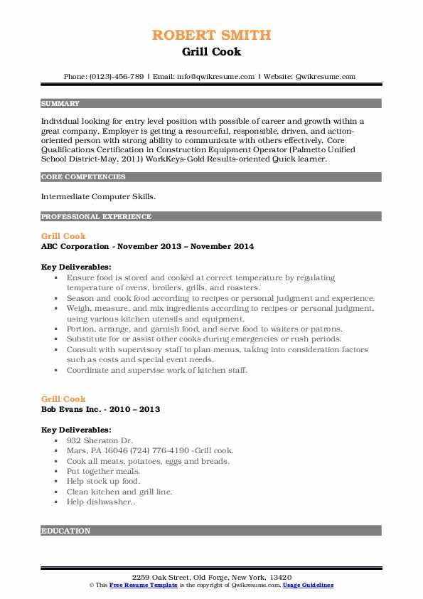 private chef resume samples qwikresume personal objective grill pdf profit and loss Resume Personal Chef Resume Objective