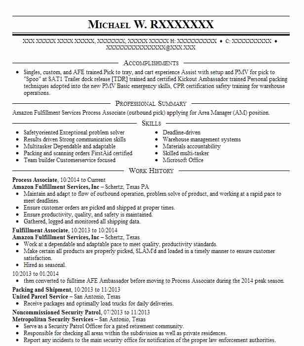 process associate resume example resumes livecareer free templates word healthcare Resume Process Associate Resume