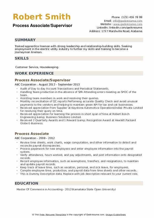process associate resume samples qwikresume pdf healthcare professional stanford Resume Process Associate Resume