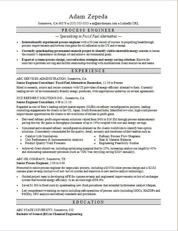process engineer resume sample monster chemical engineering typeface for primary teaching Resume Chemical Engineering Resume