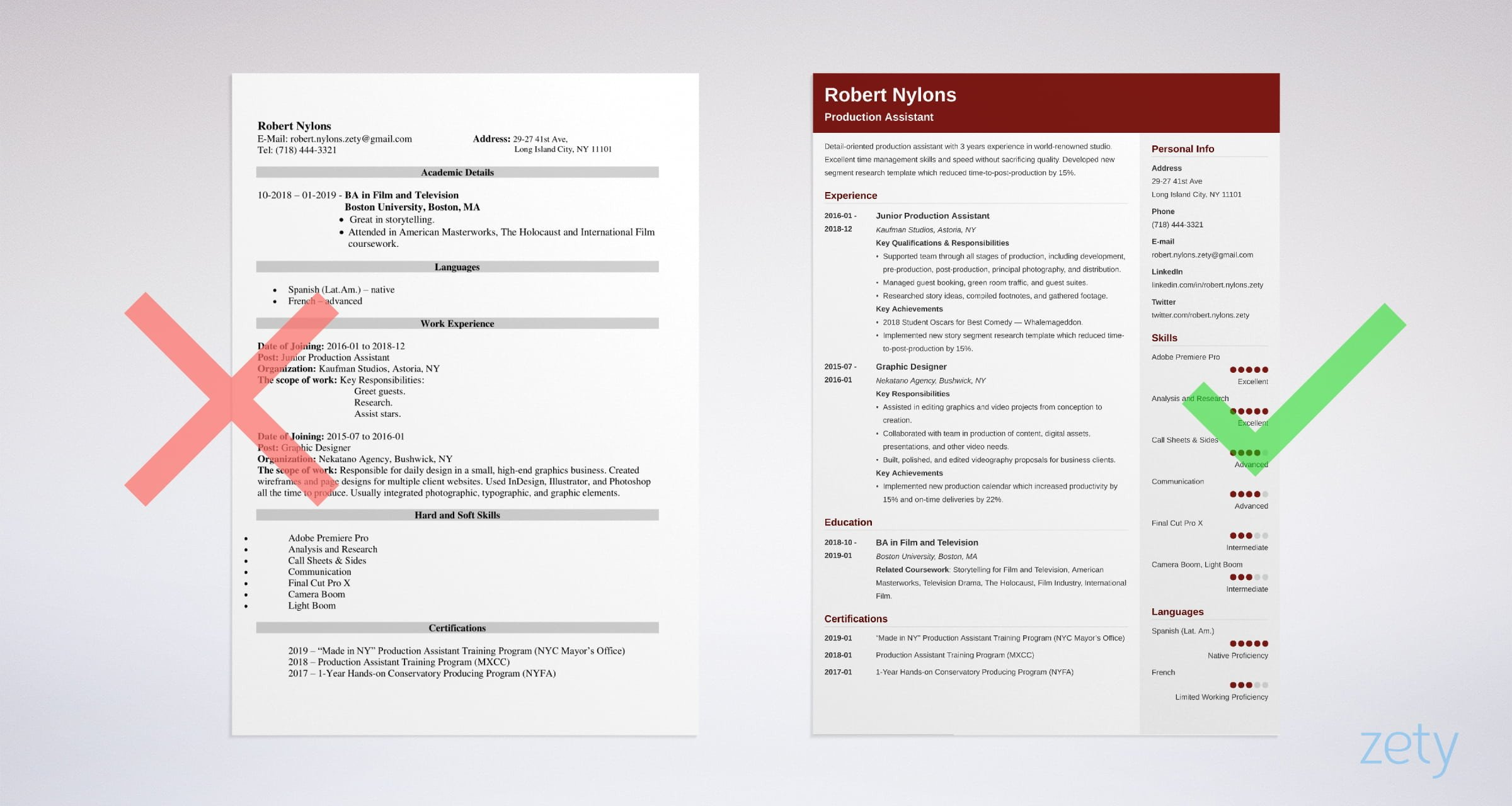 production assistant resume examples skills for film or tv crew sample example building Resume Film Crew Resume Sample