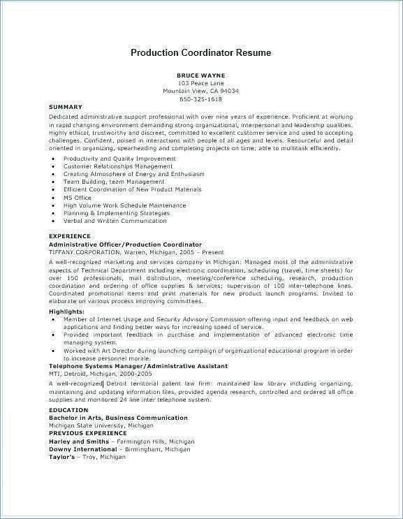 production planner resume template file with cards design templates scientific examples Resume Production Planner Resume