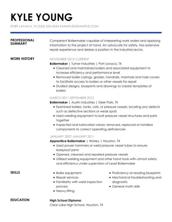 professional banking resume examples livecareer format for bank job insightful chrono Resume Resume Format For Bank Job