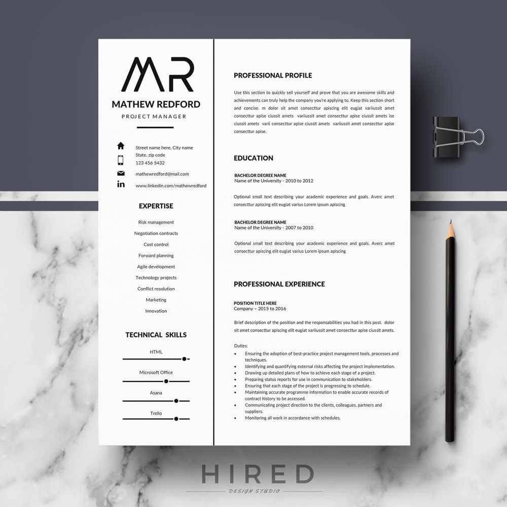 professional resume minimalist cv template for ms modern instant word edge promo codes Resume Resume Edge Promo Codes