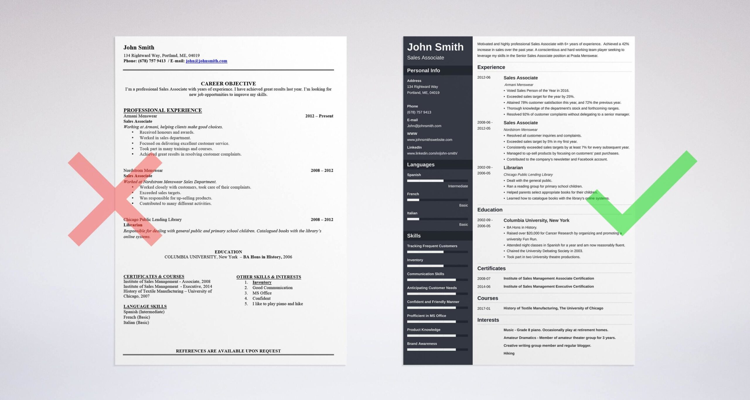 professional resume summary examples statements statement for students on template dark Resume Resume Summary Statement For Students