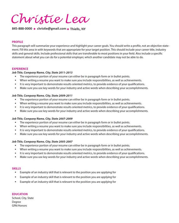 professional resume writing help job search etsy points for il 570xn b5i4 example or Resume Points For Resume Writing