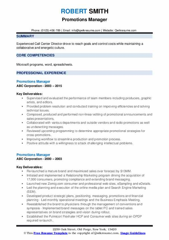 promotions manager resume samples qwikresume with promotion example pdf electrical Resume Resume With Promotion Example
