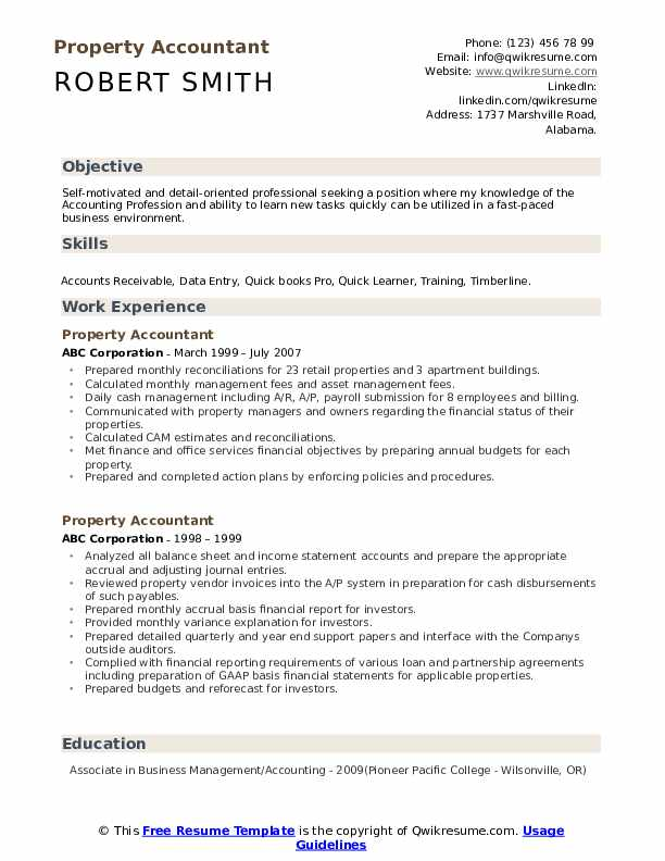 property accountant resume samples qwikresume sample pdf engineering examples restaurant Resume Property Accountant Resume Sample