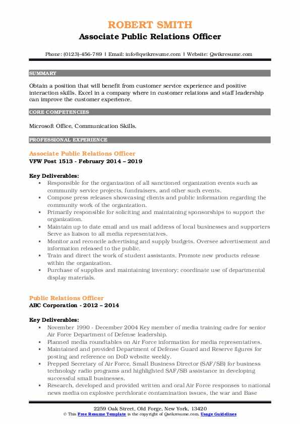 public relations officer resume samples qwikresume pdf management analyst for operations Resume Public Relations Officer Resume