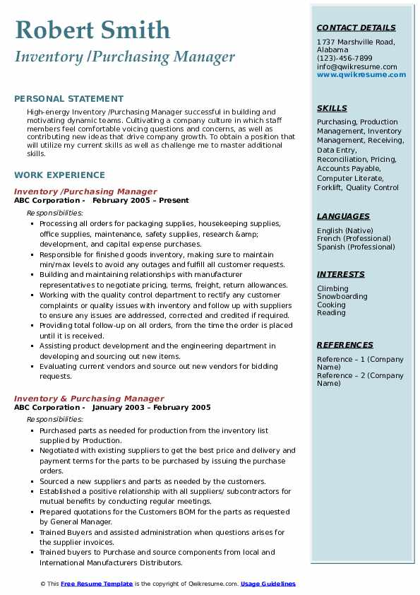 purchase officer resume pdf procurement examples job description purchasing manager Resume Procurement Job Description Resume