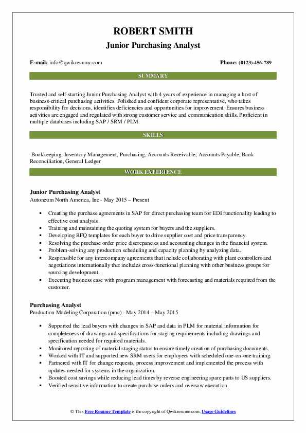 purchase resume sample pdf purchasing agent examples analyst email your template bachelor Resume Purchasing Agent Resume