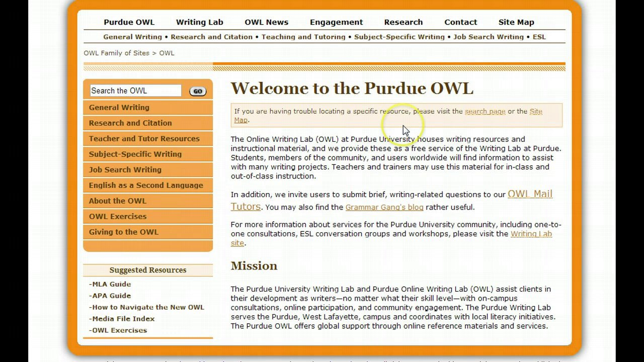 purdue owl apa guide on vimeo resume format 1280x720 new teacher examples full charge Resume Resume Format Purdue Owl