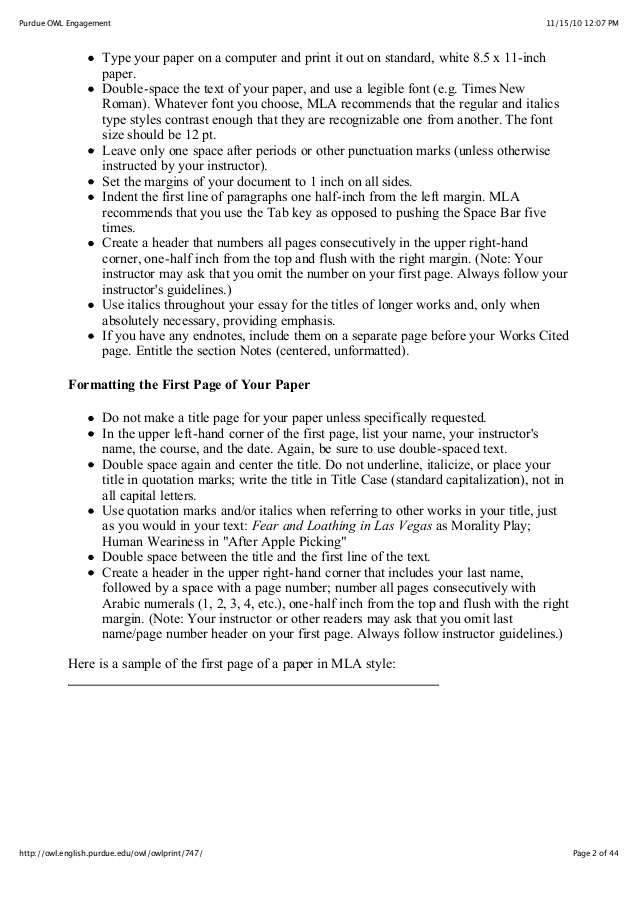purdue owl mla style guide resume format internal audit examples full charge bookkeeper Resume Resume Format Purdue Owl