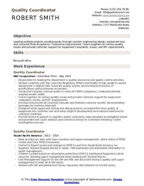 quality coordinator resume samples qwikresume release pdf pos system electrician Resume Release Coordinator Resume