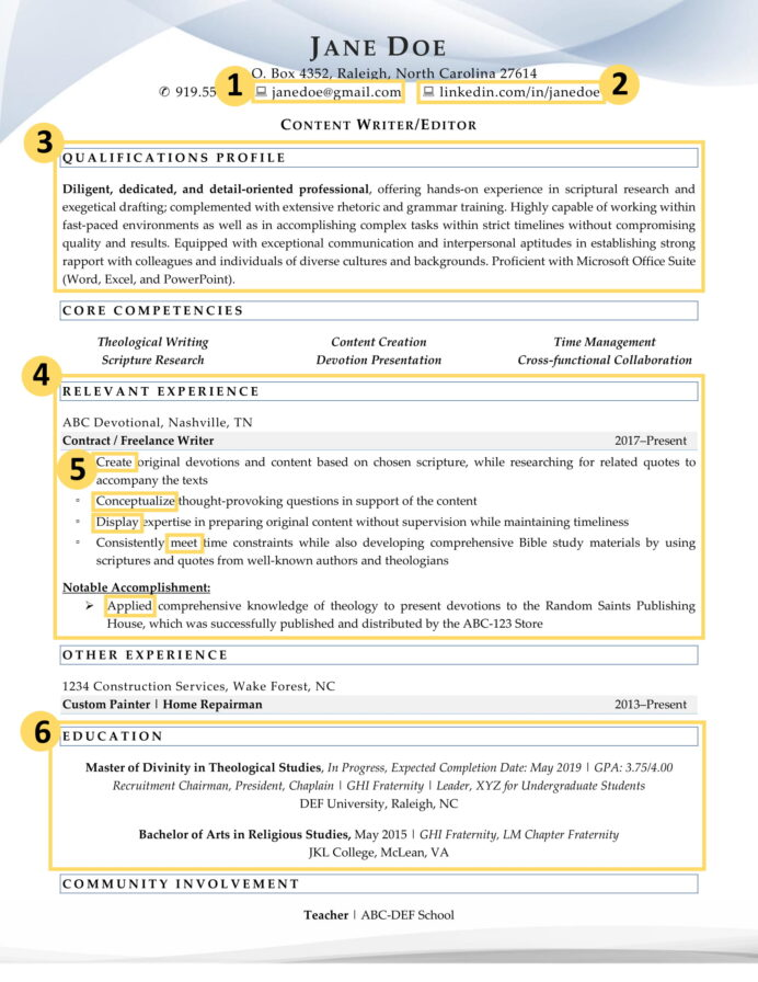 recent college graduate resume factors that make it excellent example labeled microsoft Resume College Graduate Resume