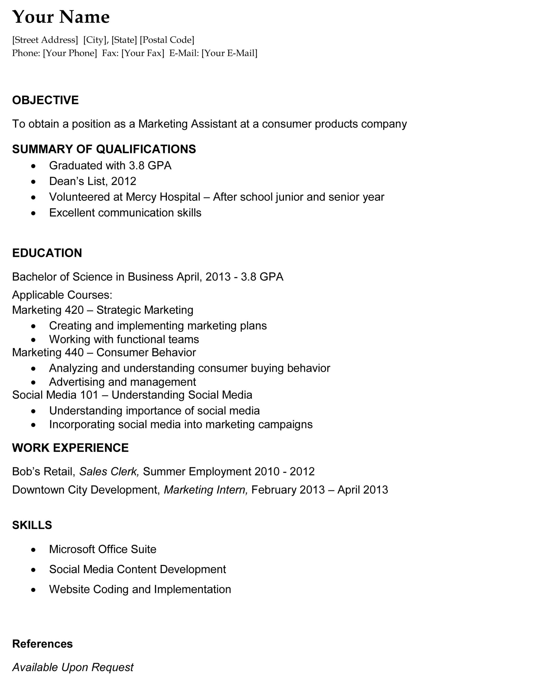 recent college graduate resume the template site sample for rpn skills indeed esthetician Resume Sample Resume For Recent College Graduate