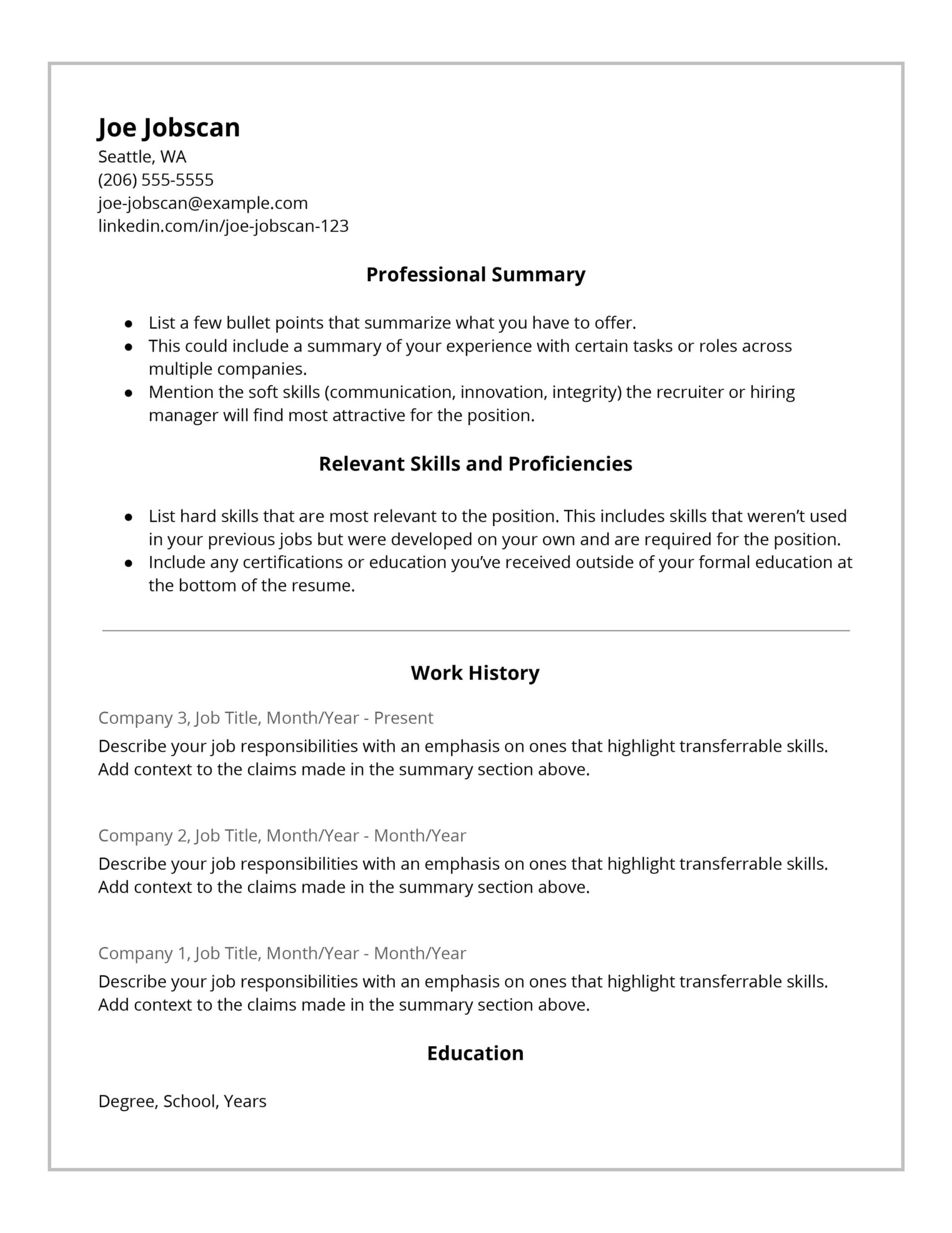 recruiters hate the functional resume format here good work skills for hybrid template Resume Good Work Skills For Resume
