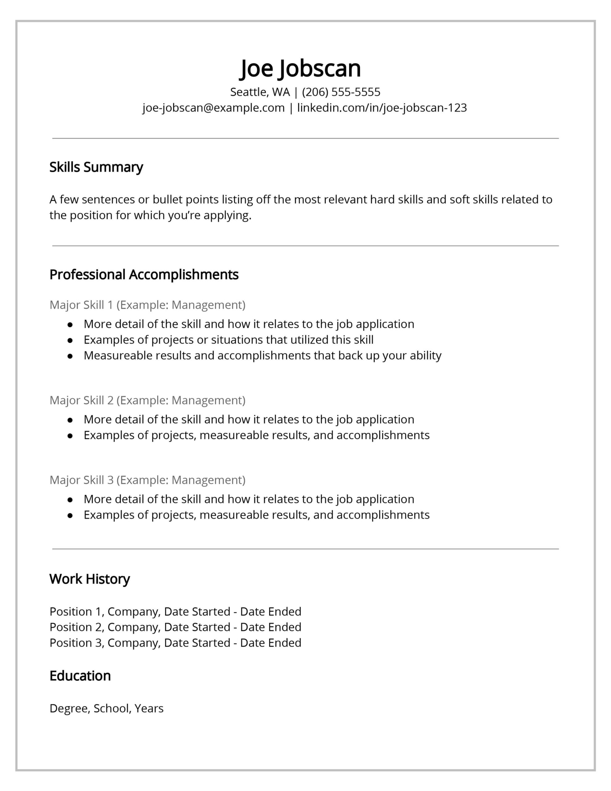 recruiters hate the functional resume format here skill set template best for computer Resume Skill Set Resume Template
