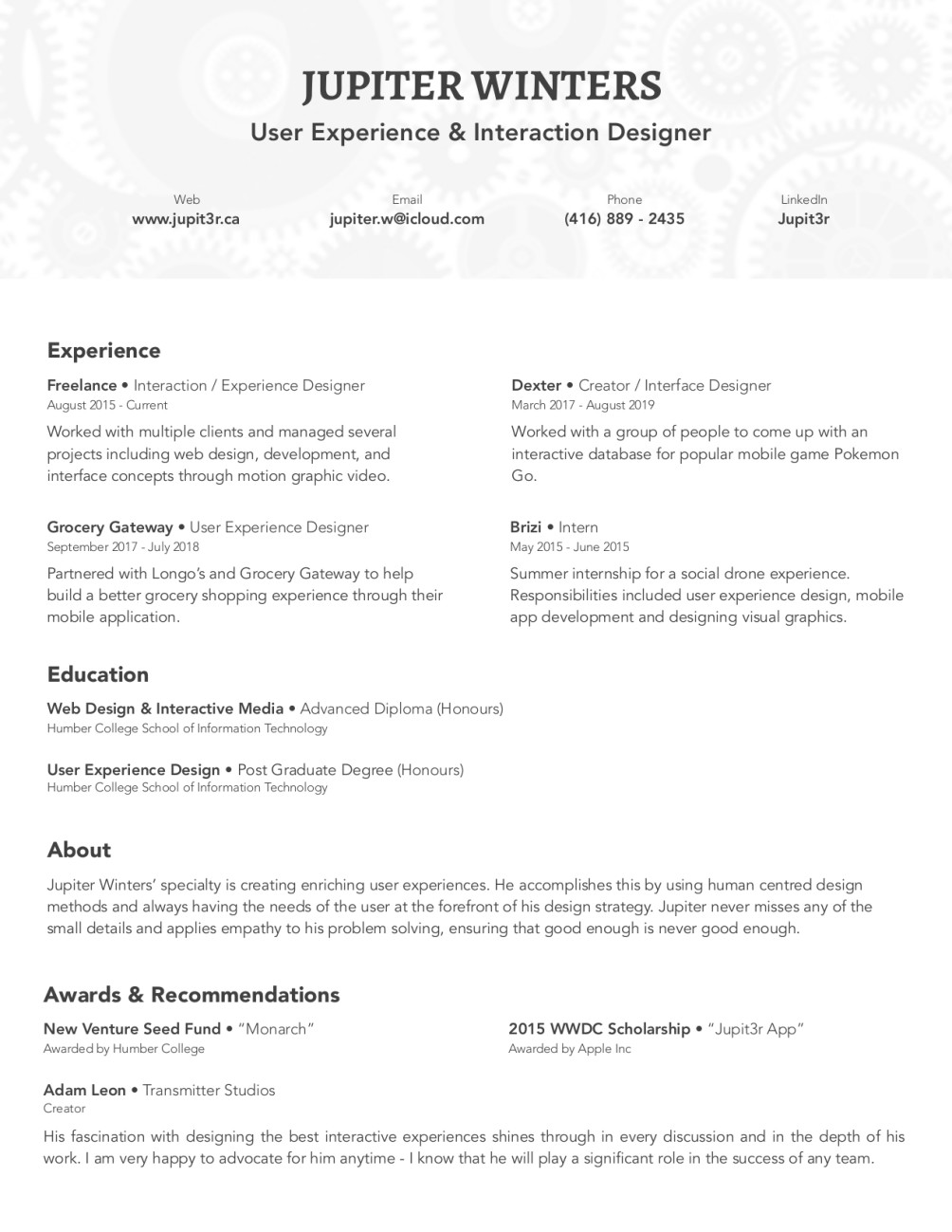 redesign your professional resume by jupit3r advanced concepts fiverr zxswpf process Resume Advanced Resume Concepts