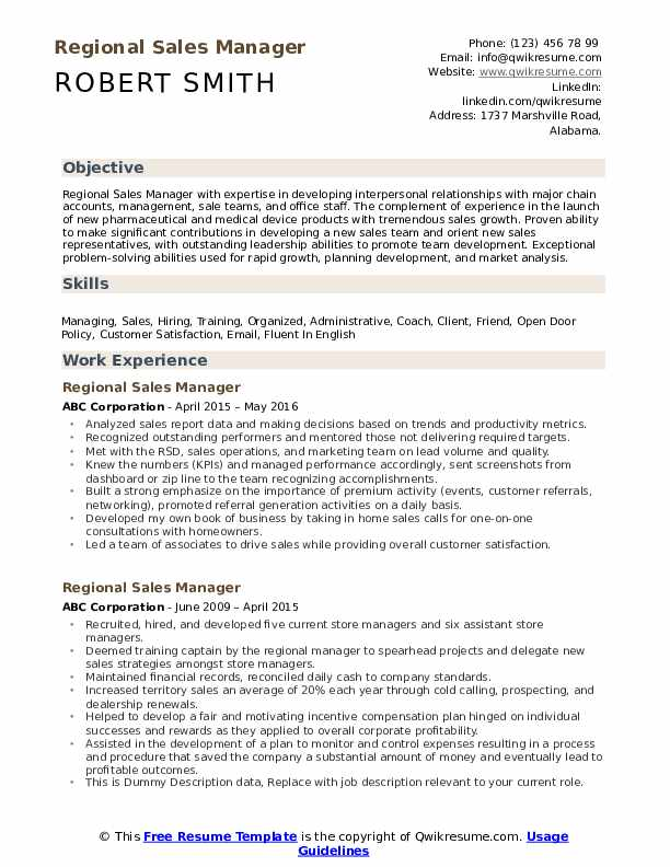 regional manager resume samples qwikresume areas of growth for pdf training coordinator Resume Areas Of Growth For Resume
