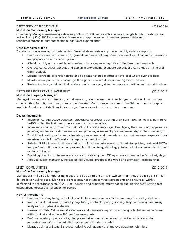 regional property manager resume examples november apartment example residential Resume Apartment Property Manager Resume Example