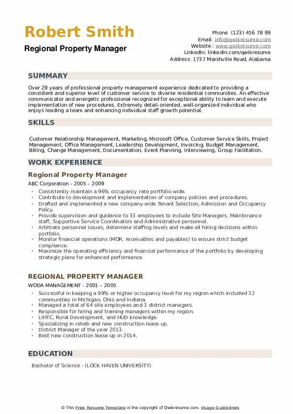 regional property manager resume samples qwikresume apartment example pdf sorority on Resume Apartment Property Manager Resume Example