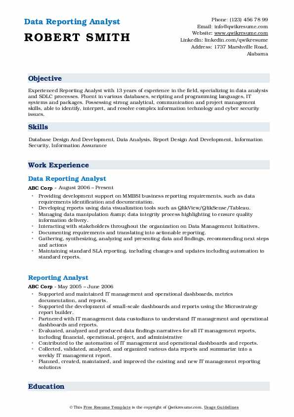 reporting analyst resume samples qwikresume pdf harvard style template sap basis sample Resume Reporting Analyst Resume