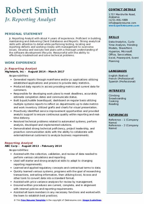 reporting analyst resume samples qwikresume pdf head grower platform markdown free stock Resume Reporting Analyst Resume
