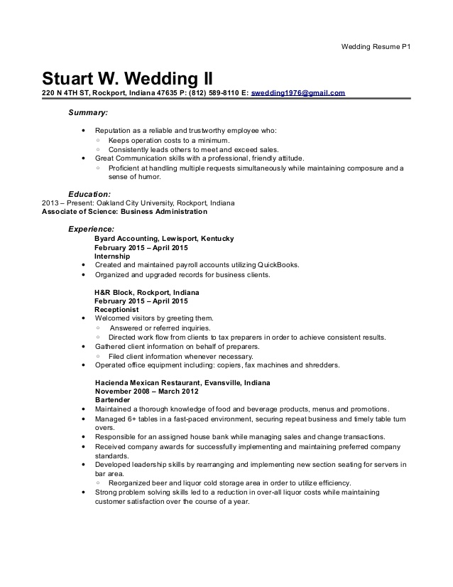 resume block tax associate sample email for job application with experience body good Resume H&r Block Tax Associate Resume