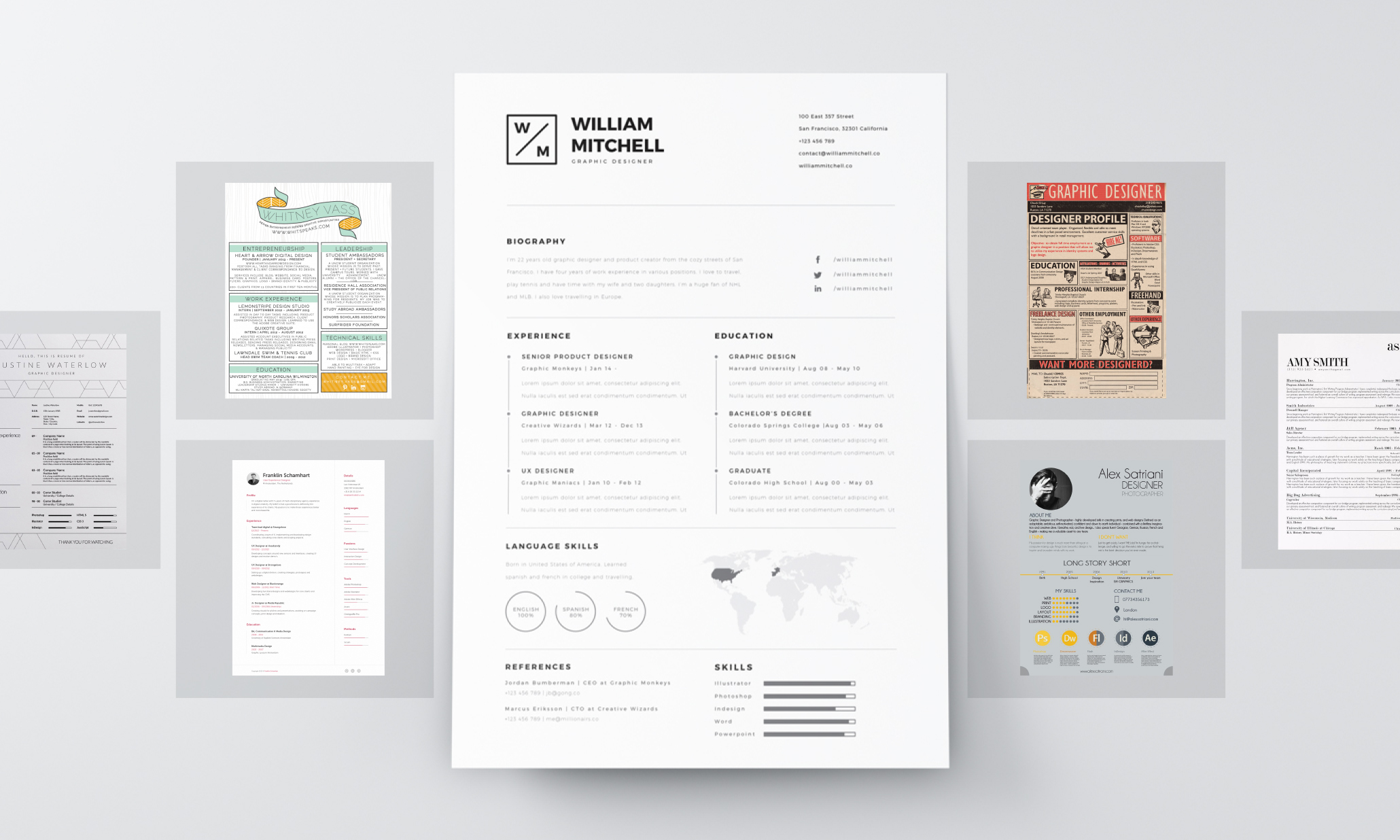 resume design principles that get you hired 99designs best font size for resumes allergy Resume Best Font Size For Resume 2020
