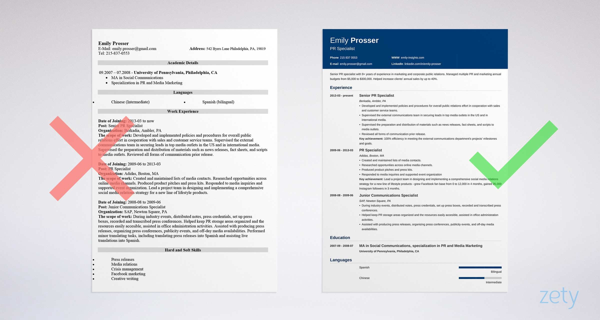 resume design principles to create the perfect by board infinity medium visually Resume Visually Attractive Resume