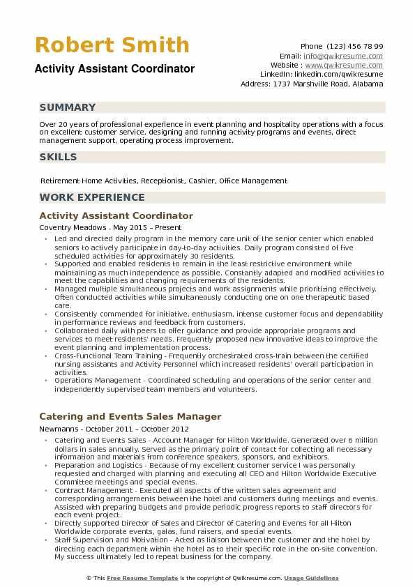 resume examples activities federal summary skills and example the clinic demand planner Resume Skills And Activities Resume Example